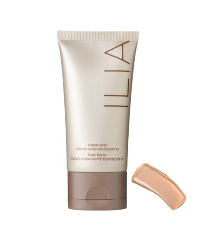 Ilia Beauty crema con color y protección solar