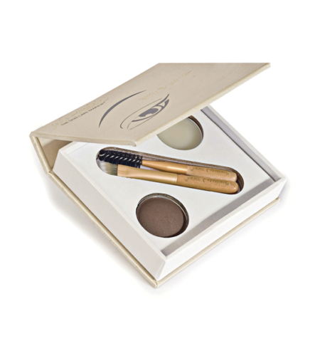 Cejas Bitty Brow Kit Brunette - Jane Iredale