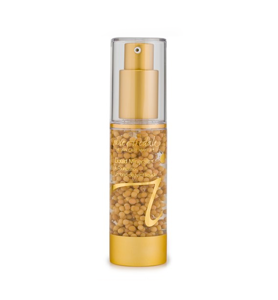 Base Maquillaje Liquid Minerals Caramel - Jane Iredale
