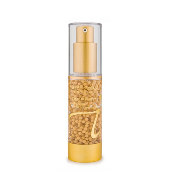 Base Maquillaje Liquid Minerals Golden Glow - Jane Iredale