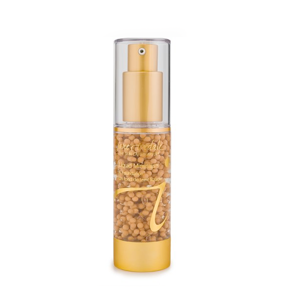 Base Maquillaje Liquid Minerals Honey Bronze - Jane Iredale